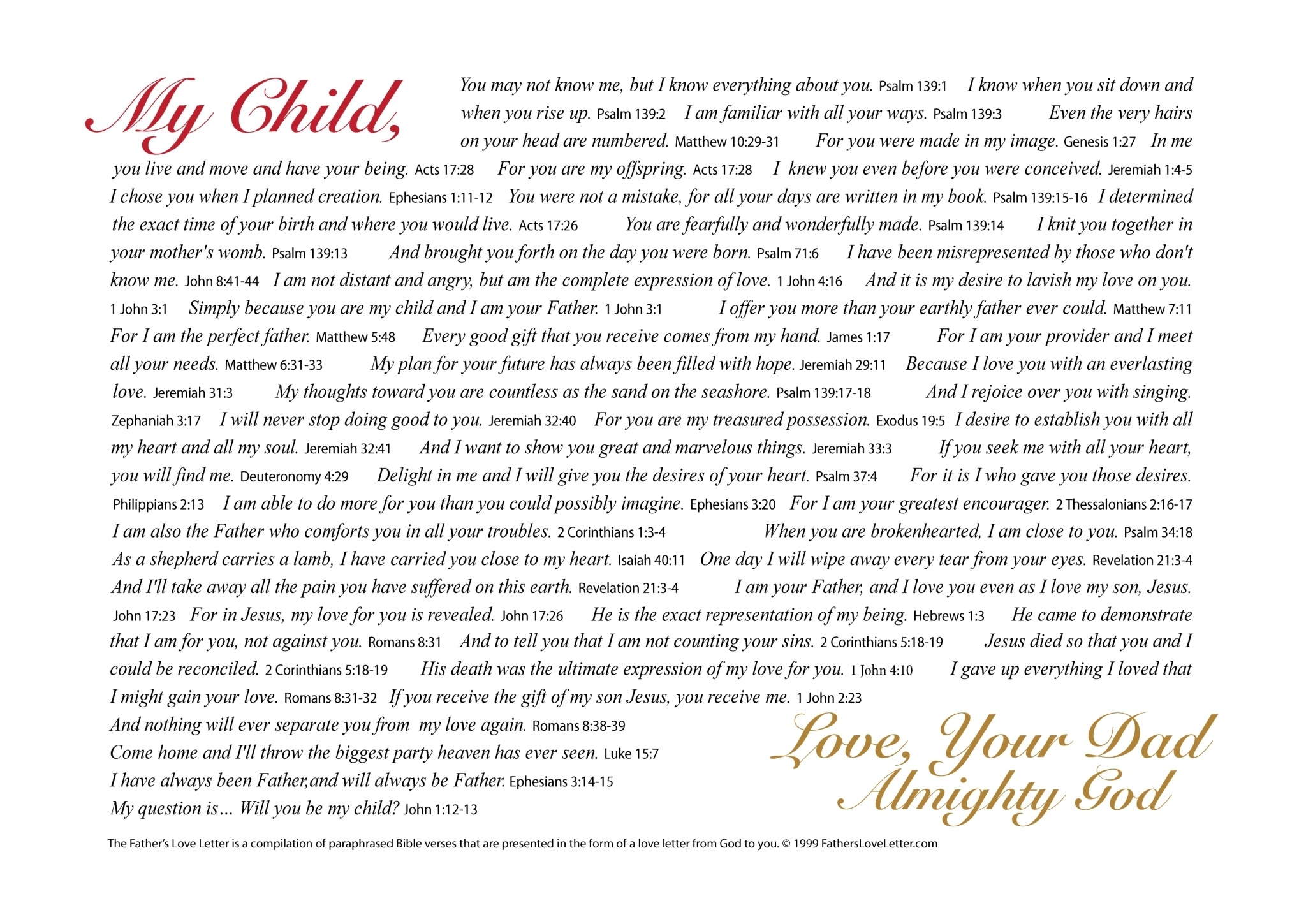 Love Letter To The Father Of My Child - Letter BestPoemView CO
